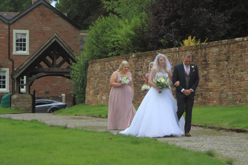 Wetheral wedding