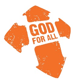 God for all orange logo