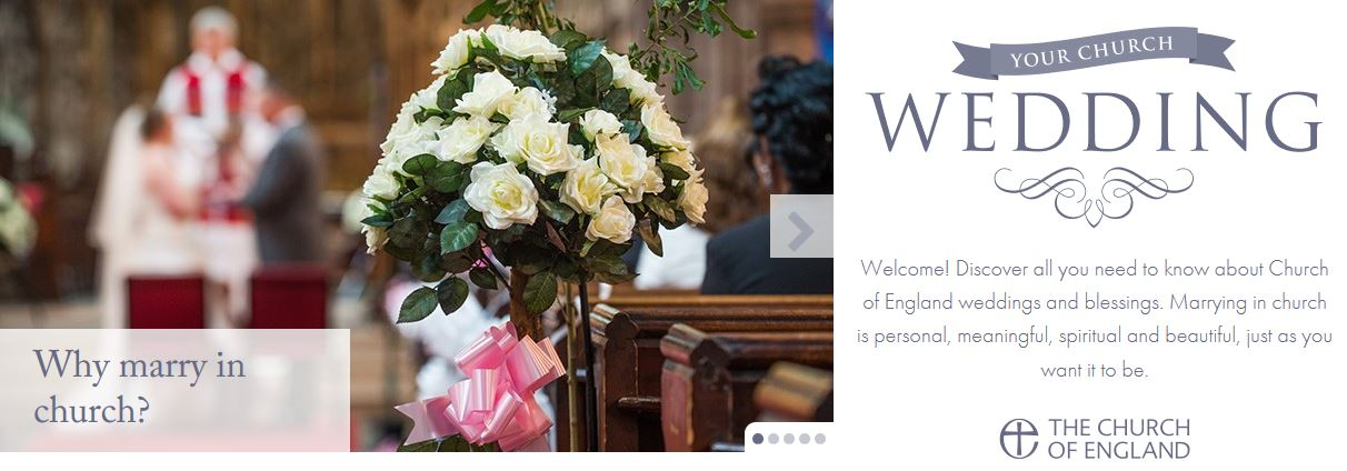 Wedding Church of England link